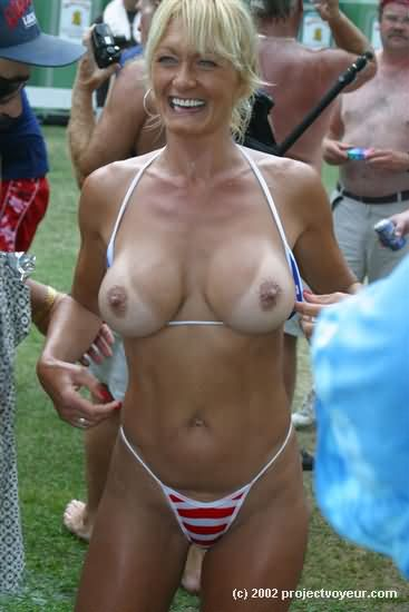 Share Mature micro string bikini mom suggest you